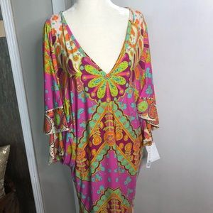 Trina Turk dress or swim suite cover